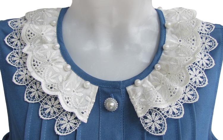 Детские платья из джинсовой ткани своими руками 78