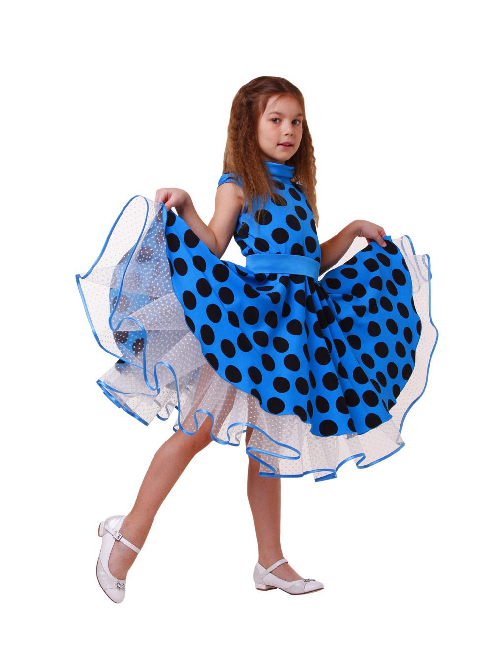 Детские платье для девочки крючком - e1e57